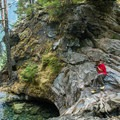 Photo opportunities abound on the trail.- A Week on the Pacific Northwest National Scenic Trail