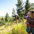 Hiking the McClintock Trail in Boulder Mountain Park, Colorado.- Gear Review: Deuter Kid Comfort 2
