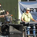 Melville takes to the stage in the evening.- Summer Solstice Block Party - A Recap