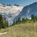 The incredible scenery at Whatcom Pass.- A Week on the Pacific Northwest National Scenic Trail