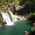 Sawmill Falls along the Little North Fork of the Santiam.- Oregon's 30 Best Swimming Holes