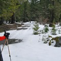 It took until late February last year for lower-elevation snows to accumulate enough base for a ski along the Sandy River.- But What are the Current Conditions?