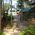 Camp Westwind cabins and main lodge.- OutdoorProject.org Partners with Westwind Stewardship Group
