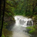 Lower Lewis Falls, Gifford Pinchot National Forest.- U.S. Forest Service