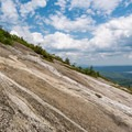 Granite slab on Mount Cardigan.- 10 Favorite State Parks in New Hampshire
