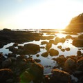 Rock formations and tide pools at Hole-in-the-Wall.- Washington's 20 Best Beaches