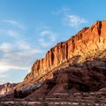 Incredible formations invite exploration along Capitol Reef National Park's Scenic Drive.- Southwest Sights with Featured Contributor Denis LeBlanc