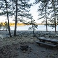 Typical campsite at Thompson Reservoir Campground.- 6 Adventures in Central Oregon You May Not Know About