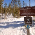 Snowshoing and cross-country skiing at Swampy Lakes.- It's Cold! Explore These 8 Winter Adventures with Warming Huts