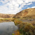 The John Day River running through Cottonwood Canyon State Park.- Cottonwood Canyon: Oregon's Newest State Park