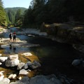 Washougal River swimming hole at mile marker 15.5 (photo taken at 3 p.m.).- Oregon's 30 Best Swimming Holes