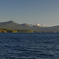The view south toward Diamond Peak (8,743') with Mount Ray (7,002') at left.- 10 Epic Adventures at Waldo Lake