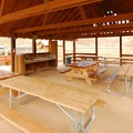 The picnic shelter in Cottonwood Canyon State Park.- Cottonwood Canyon: Oregon's Newest State Park