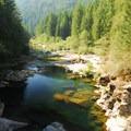 Washougal River just below Dougan Falls.- Oregon's 30 Best Swimming Holes