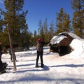 Swampy Lakes Shelter.- It's Cold! Explore These 8 Winter Adventures with Warming Huts