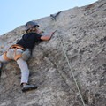 Top roping at Practice Rock in City of Rocks.- Learning the Ropes: A Beginner's Guide to Rock Climbing with Kids