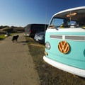 Surfer's classic VW at Westhaven State Park.- Washington's 20 Best Beaches