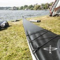 Preparing the TRAK kayaks at Washington Park Arboretum.- 50 of Washington's Best Sea Kayaking Adventures