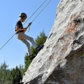Rappelling at Kid Rock in Castle Rock State Park.- Learning the Ropes: A Beginner's Guide to Rock Climbing with Kids