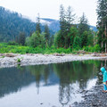 5 Mile Island backcountry camping in Olympic National Park.- The Basics of Backpacking with Kids