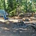 Dispersed Campsite in Oregon's Umpqua National Forest.- Dispersed Camping on Public Lands