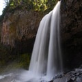 Tamanawas Falls on Mount Hood's east side.- 10 Must See Waterfalls Not In The Gorge