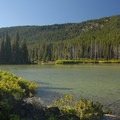 Devils Lake looking west.- Central Oregon Cascade Lakes