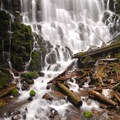 Ramona Falls on the west side of Mount Hood.- 10 Must See Waterfalls Not In The Gorge