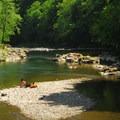 Wilson River just below Keenig Creek Campground.- Oregon's 30 Best Swimming Holes