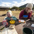 Base camp at Glacier Basin Campground within Rocky Mountain National Park.- Gear Review: Deuter Kid Comfort 2