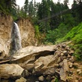 Drift Creek Falls just east of Lincoln City, Oregon.- 10 Must See Waterfalls Not In The Gorge