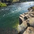 Bend's legendary Meadow Camp cliff jumping spot.- Oregon's 30 Best Swimming Holes