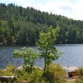 A large bluff on Basswood Lake.- A Beginner's Guide to Paddling the Boundary Waters Canoe Area Wilderness