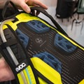 EVOC hydration pack Stage 61 with ultra thin ventilation zone.- Interbike 2015 Review