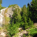 Spray Falls.- Mount Rainier's 7 Best Day Hikes