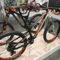 """Scott Genius series bikes with 150mm of travel and 3"""" tires.- Interbike 2015 Review"""