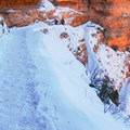 Hikers must be equipped for icy conditions in winter- How to Hike the Grand Canyon: Tips for Beginners and Experts