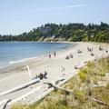 Fort Warden Beach looking south.- Washington's 20 Best Beaches