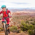 Ladyshred on Ahab Trail in Moab, Utah, after the Scott Enduro race. Photo by Ashlee Wilson (@Ashlee_Wilson_).- Woman In The Wild: Brittany Greer