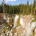 Paulina Creek Falls.- Newberry National Volcanic Monument