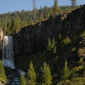 Tumalo Falls.- Wednesday's Word - Tumalo