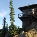 The Gobblers Knob lookout tower.- Mount Rainier's 7 Best Day Hikes