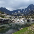 Jewel Lake on the trail to Pine Creek Lake.- 14 Hikes in Greater Yellowstone