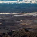 Rivers flowing into Death Valley in mid October, fed by intense El Niño rains - Winter Adventuring and El Niño: What to Expect