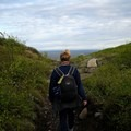 Hiking at midnight.- The Secret to Avoiding Summertime Crowds in Iceland