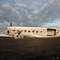 The famous Sólheimasandur plane wreck.- The Secret to Avoiding Summertime Crowds in Iceland