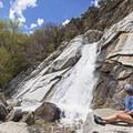 Lisa Falls in Little Cottonwood.- Wasatch Waterfalls