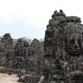 Bayon Temple upper platform.- A Guide to Exploring Angkor Archaeological Park