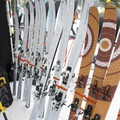 La Sportiva's backcountry Vapor Nano skis with 392 front rocker weighing in at 1,200 grams. - 2016 Outdoor Retailer Winter Market Review