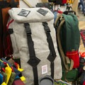 Topo Designs' all new full flannel day pack.- 2016 Outdoor Retailer Winter Market Review